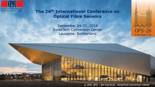 InPhoTech na konferencji OFS26 w Lozannie