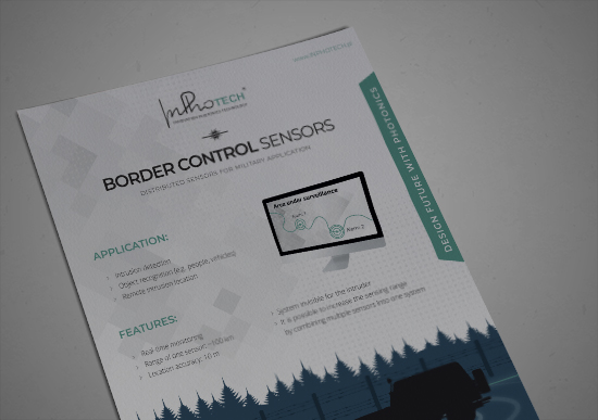 Border control sensors