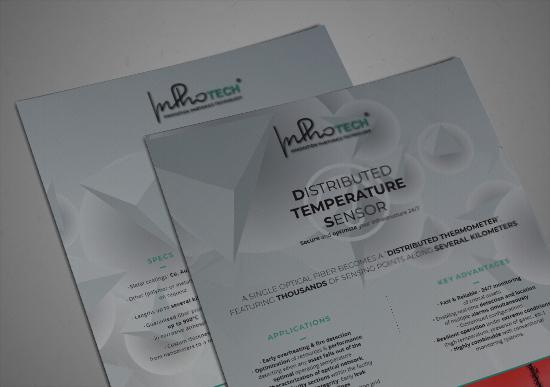 Distributed temperature sensor